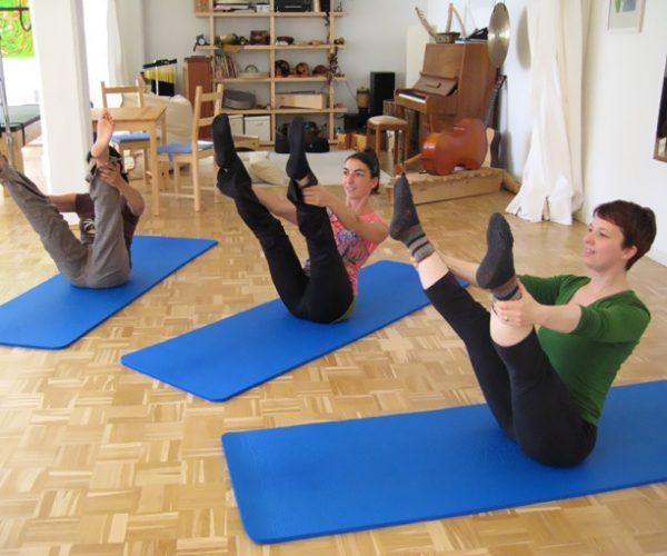 Pilates Gruppentraining