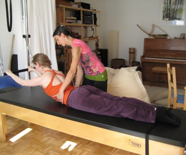 Pilates Einzeltraining am Cadillac